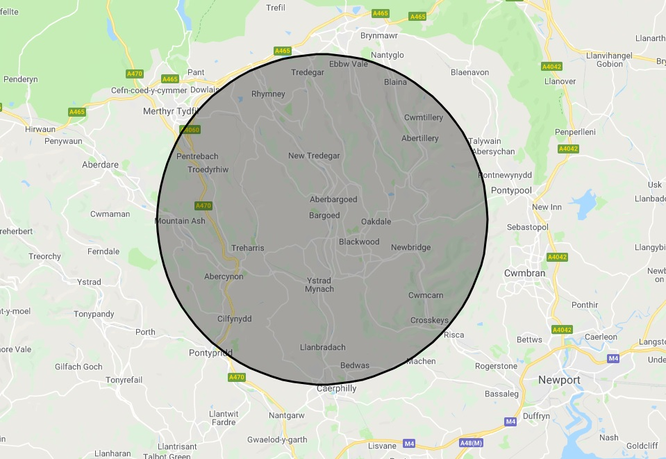 Banwell Mini Buses taxi distance