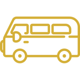 An icon depicting a bus.